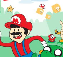It's Mushroom Time Sticker