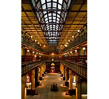 Inside the Mortlock Wing Photographic Print