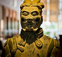 Chinese warrior by Andrea Rapisarda