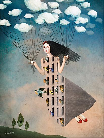 Bird House by Catrin Welz-Stein