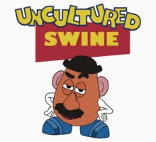 Uncultured Swine! by goldenote