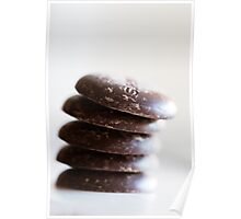 Chocolate Buttons Poster