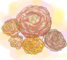 Ranunculus by adunaphel13