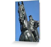 Stonewall on Horse Greeting Card