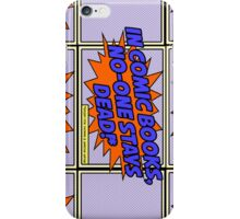 Except for the Waynes... iPhone Case/Skin