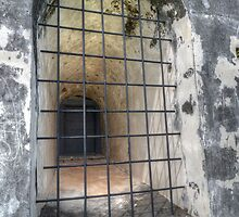 The Window at Fort Charlotte in Nassau, The Bahamas by 242Digital