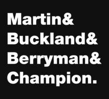 Martin & Buckland & Berryman & Champion. by Affettuoso