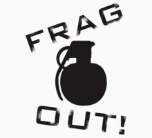 Frag Out T Shirt by Fangpunk