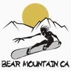 Bear Mountain, California Snowboarding by SportsT-Shirts
