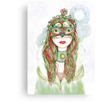 The Yuletide Princess Canvas Print