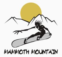 Mammoth Mountain, California Snowboarding by SportsT-Shirts