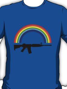Rainbow Gun T Shirt T-Shirt