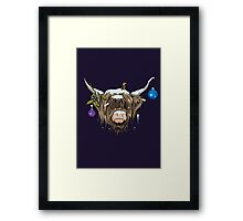Highland Cow X Framed Print