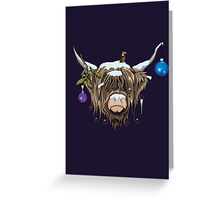 Highland Cow X Greeting Card