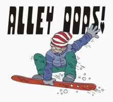 "Snowboarding ""Alley OOPS!"" T-Shirt"