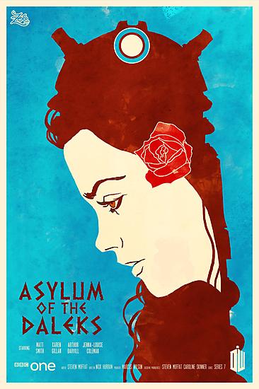 Asylum Of The Daleks by zerobriant