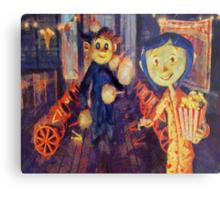 Coraline Circus Metal Print