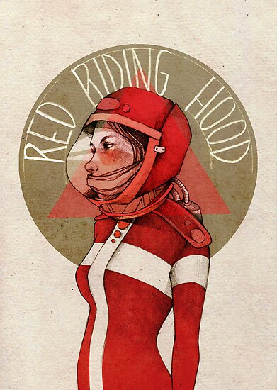 Little Red Riding Hood by elia, illustration