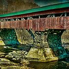 Taftsville Covered Bridge by Deborah  Benoit