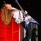 Dave Mustaine of Megadeth by HoskingInd