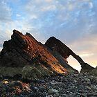 Bow Fiddle Rock Sunrise by Maria Gaellman