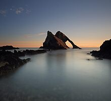 Bow Fiddle Rock Sunrise by Maria Gaellman