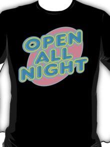 "Bowling ""OPEN ALL NIGHT"" T-Shirt"
