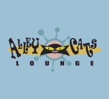 """Bowling """"Alley Cats Lounge"""" Retro Kids Clothes"""