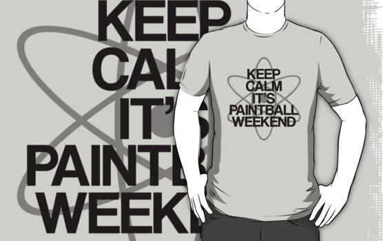 Keep Calm - Paintball Weekend by stevebluey