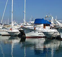 Anchored At Antibes by Fara