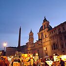 Piazza Navona, Rome by graceloves