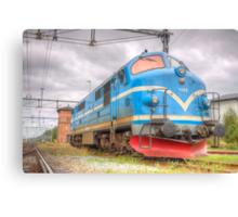 Locomotives of Värnamo VI Canvas Print