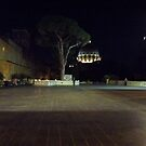 The Vatican at night by graceloves