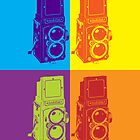 Pop Art Rolleiflex by Adam Grey