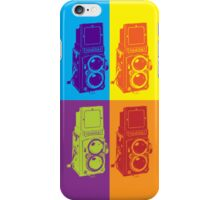 Pop Art Rolleiflex iPhone Case/Skin