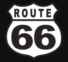 Route 66 Retro by SportsT-Shirts