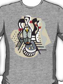 Bowling Abstract T-Shirt