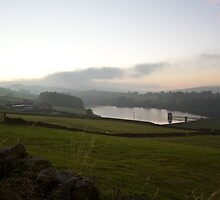 Haworth Reservoir by Michael Upshon