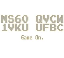 MS60 QVCW 1VKU UFBC - Game on. by Weber Consulting