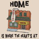 "Bowling ""Home Is Where The Heart's At"" by SportsT-Shirts"