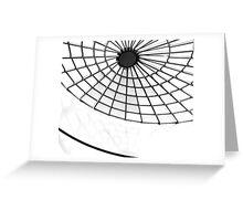Monoweb Greeting Card