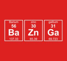 Bazinga Periodic Table T-Shirt by keepers