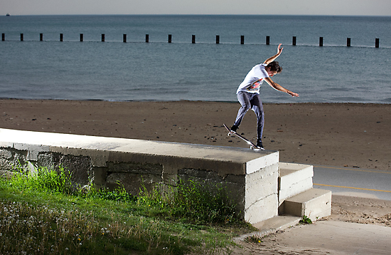 Mikey Taylor - Sw 180 Nosegrind - Photo: Sam McGuire by Reggie Destin Photo Benefit Page