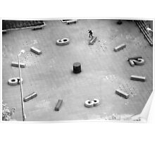 Brad Hendrickson - Backside Tailslide - Downtown - Photo: Sam McGuire Poster