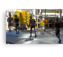 Tribute To Terry Fox Canvas Print