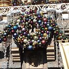 Disneyland Christmas Time- Castle Wreath by swiftjennifer