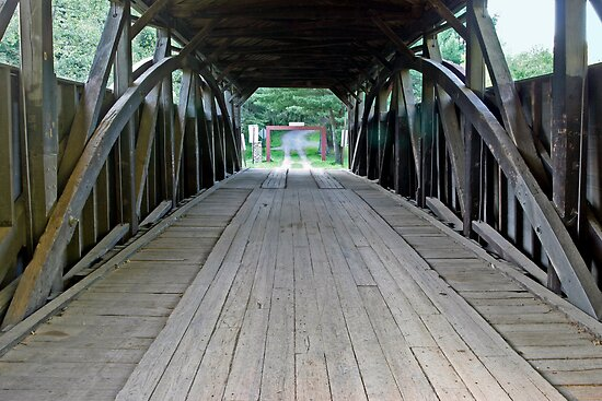 Walkin' The Old Buckhorn Bridge by Gene Walls