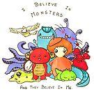Believe in monsters by SweetKitty