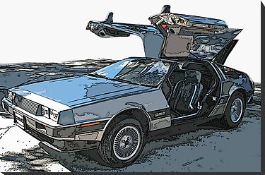 DeLorean DMC-12 by Samuel Sheats