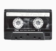 Retro 80s Cassette Tape  Kids Clothes